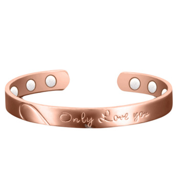 New Design Christmas Gifts Copper Magnetic Therapy Bracelet For Women