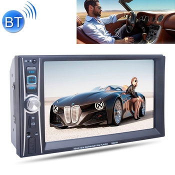 7653TM HD 6,6 polegadas Car Stereo Radio MP5 Audio Player, Link com Android Phone, Suporte Bluetooth Hand-free Chamando / FM