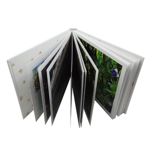 Top quality coated art paper hardcover cardboard book photo book printing