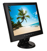Hot sale 12 inch bezel free screen LCD monitor