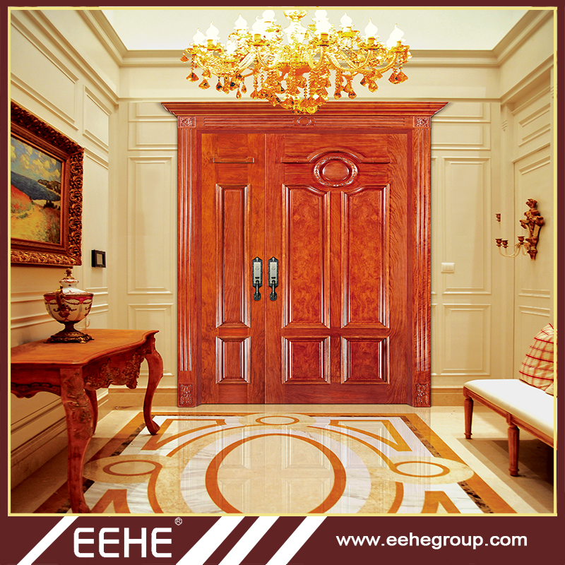 Acacia Wood Doorsolid Wood Interior Doors High Quality Double Entry
