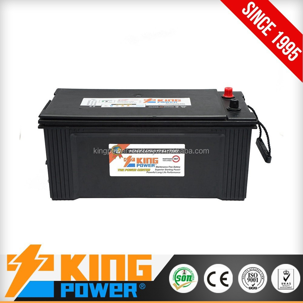 good quality Maintenance Free lead acid car starting battery N150MF
