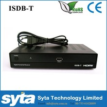Decodificador ISDB-T/conversor digital/receptor/stb