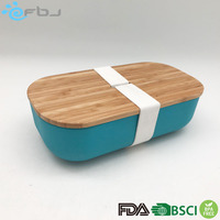 Recycling disposable hot sale bamboo fibre food container