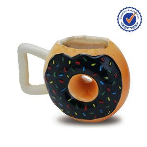 ab14716a1cd Ceramic Donut Mug, Ceramic Donut Mug Suppliers and Manufacturers at  Alibaba.com