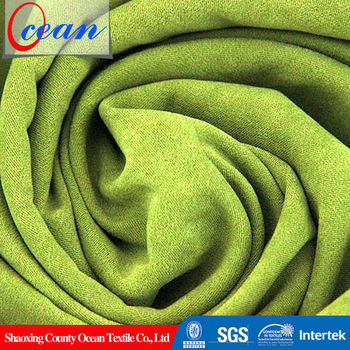 High Quality Medium Weight Polyester Stretch Brushed Back Satin Fabric