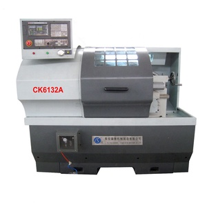 Horizontal turret hobby lathe for sale cnc lathe bar feeder CK6132A