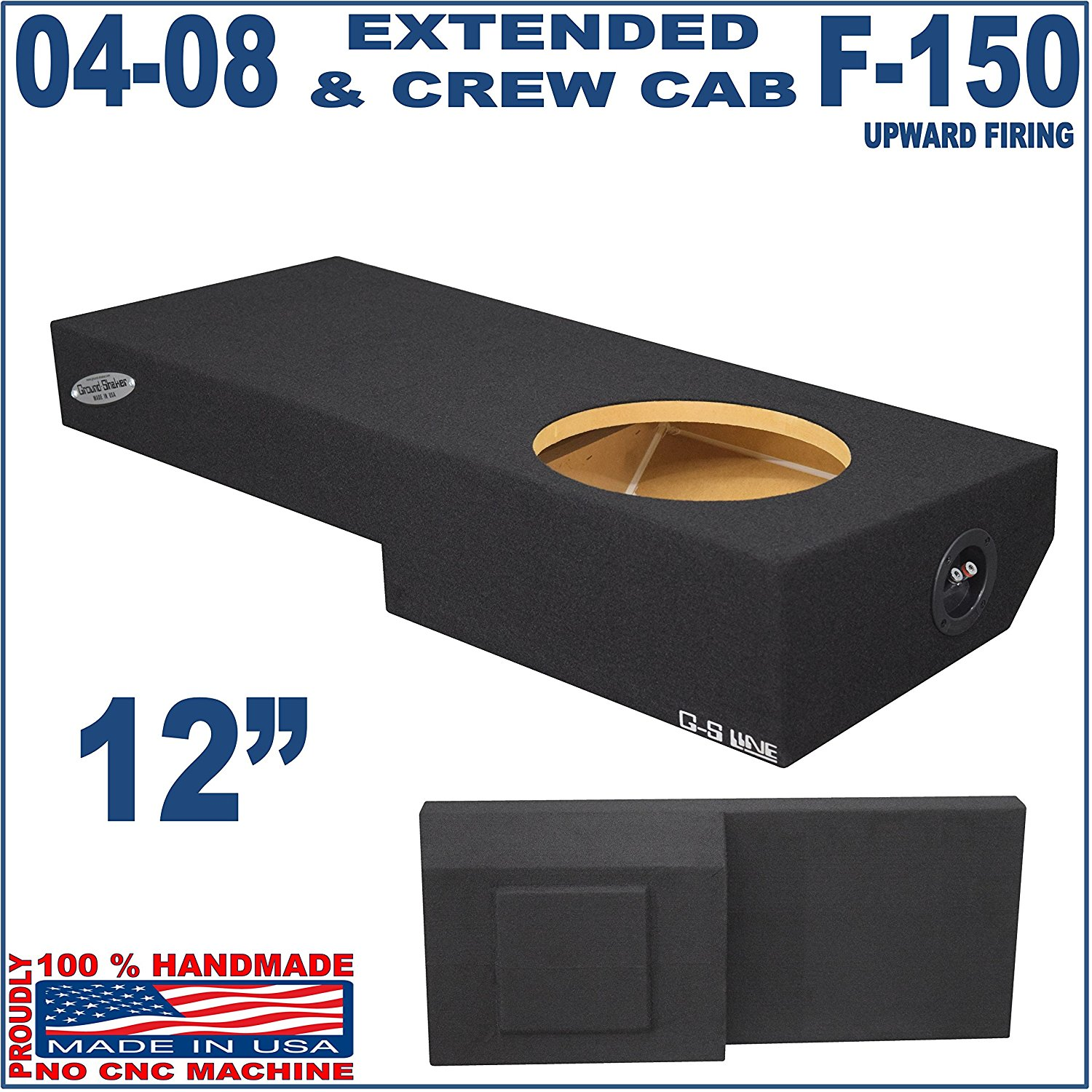 "04-08 Ford F-150 Ext-cab & Crew-cab Truck 12"" Sub woofer Box"