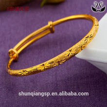 Dubai 24k Gold Plated Bangles Alibaba Wholesale Jewelry Women Gold Bracelet