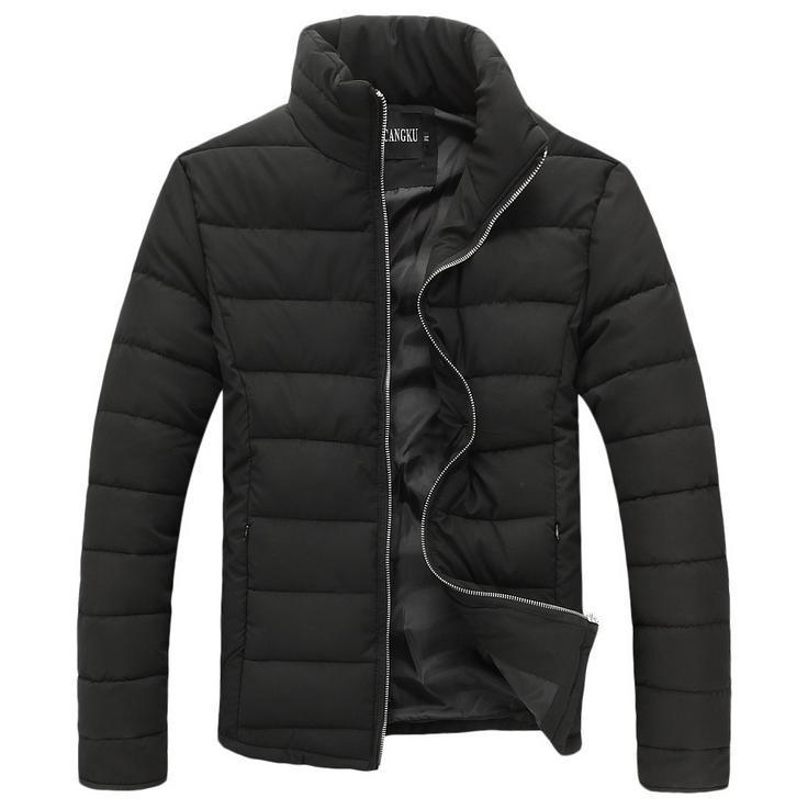 Por la chaqueta, invierno caballero de marca hombre de