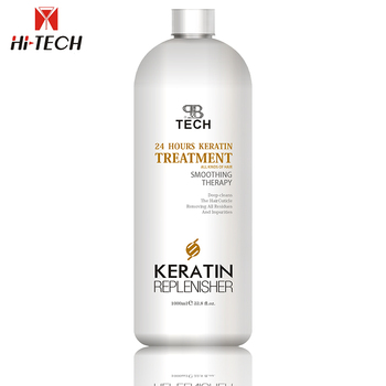 OEM / ODM nano hi tech keratin Brazilian Hair straightening protein treatment products keratin hair treatment