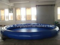 Logo printing pvc swimming pool,inflatable pool islands F9043