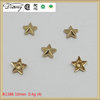 High quality gold mini star buttons studs rivets for leather bag leather jean