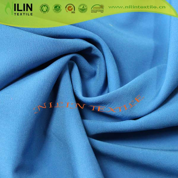 Outwear polyester peach skin brushed fabric