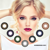 Wholesale Cheap Yearly 14.2mm Korea Color Cosmetic Color Contact Lens