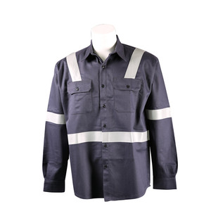 NFPA2112 CN88/12 Flame Retardant Shirt With Silver Tape