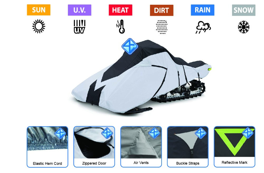Factory direct supply good quality bike cover cheap kids snowmobile snowmobile