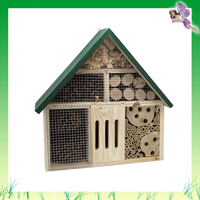 Garden Item FSC outdoor small wood bird house toy for kids