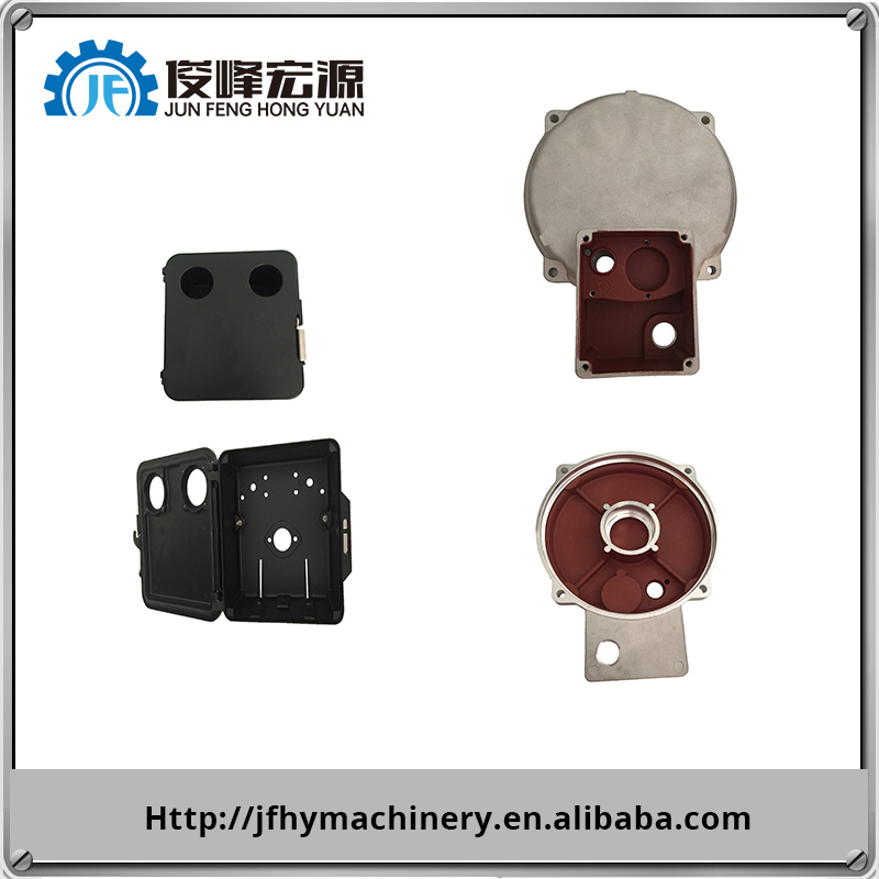 Cast&Forged customized aluminium sand casting parts