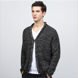 mens latest sweater design fashion Knitted cardigan