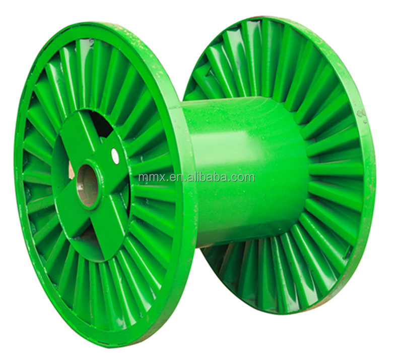 Corrugated Flange Type Steel Cable Reel Drums
