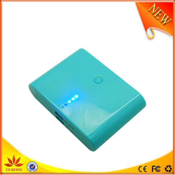 hot selling cartoon built in cable power bank