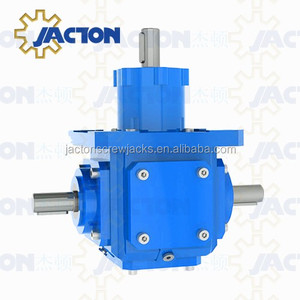 Best JT50 90 Degree Spiral Bevel Gearbox With Gear Ratio 1:1 for Direction Changing For Bottling Equipment