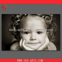 Photos on canvas printing,polyester canvas, stretched