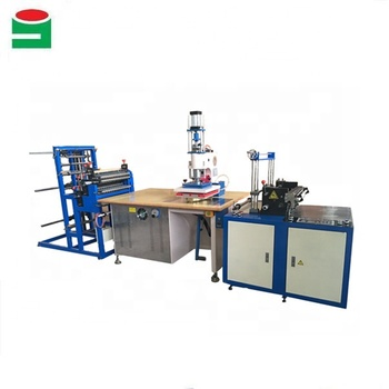 Trade sssurance JingYi automatic feeding pvc pouch high frequency sealing machine