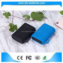 5V 2.1A fireproof and waterproof power bank 7500mah for family use