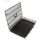 hot sale foldable wire metal iron dog cage pet crate in black metal cage