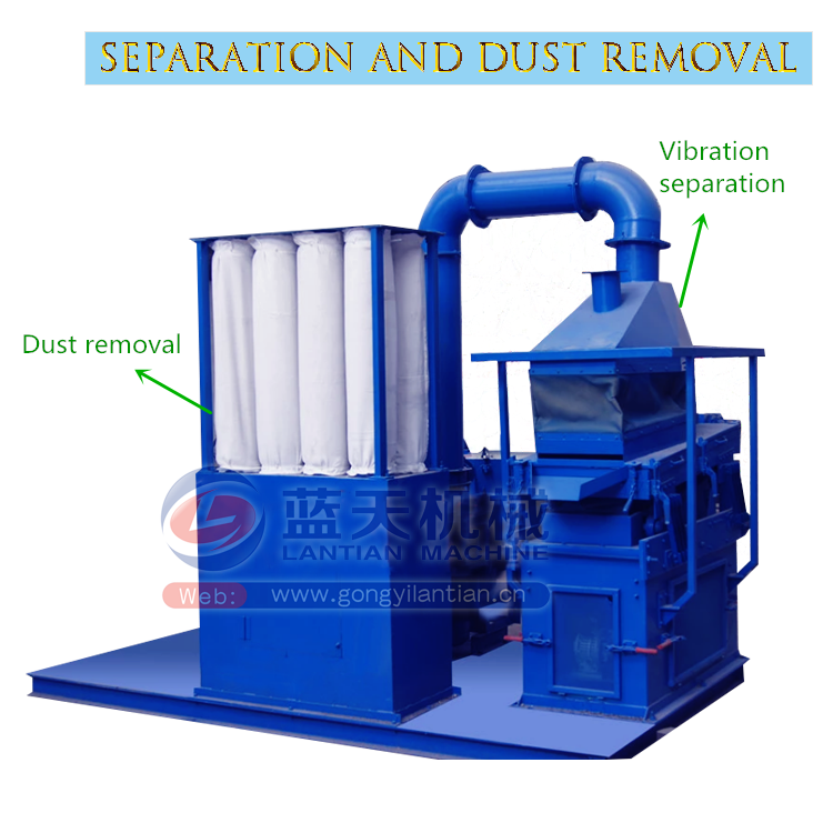 Safety Multifunctional Single And Double Shaft Plastic And Metal Shredder