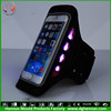 LED Flash Light night Safety Outdoor Sports Armband Belt Wrist Strap GYM Arm Band Cover iphone6