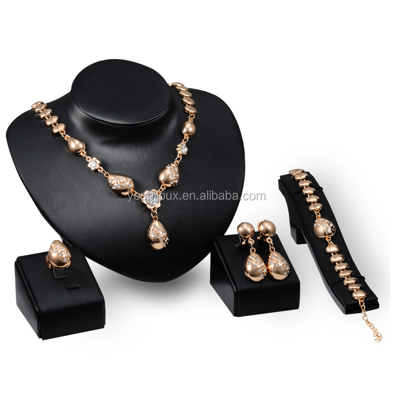 dubai gold jewelry, dubai 18k gold jewelry set saudi arabic jewellery