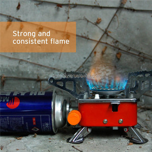 Portable Collapsible Windproof Outdoor Backpacking Gas Camping Stove