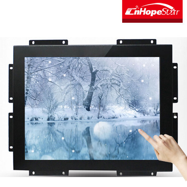 19'' hot touch screen led pc monitor open frame displays