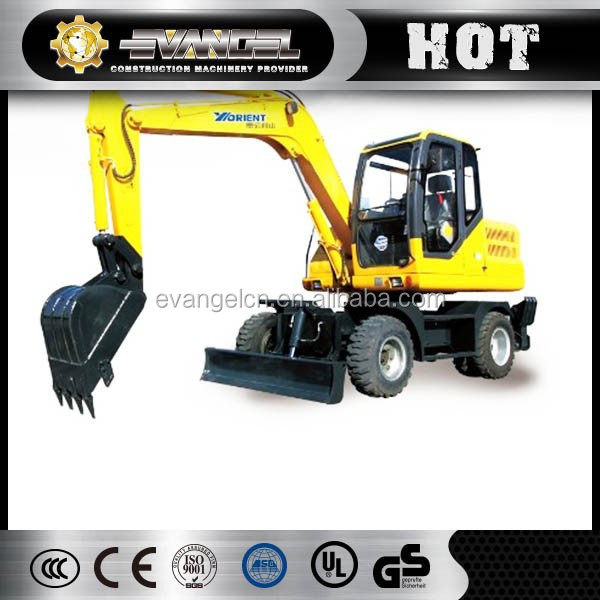 China supplier Yugong WYL135 12 ton towable mini excavator for sale