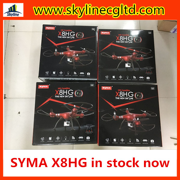 RC drone Syma X8HG Wifi FPV With 1080P HD Camera High Hold Mode 2.4G 4CH 6Axis RC Quadcopter RTF 360 3D Flips