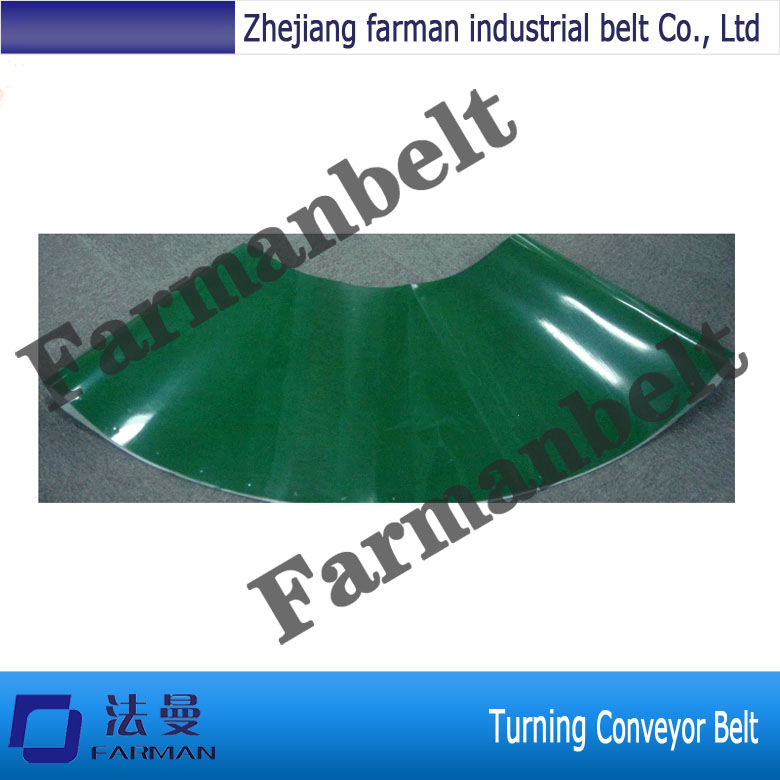 Flat PVC Conveyor Belt For Turning Conveyor