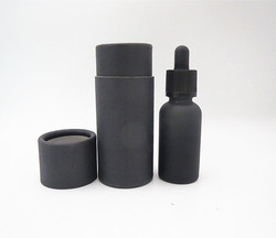 UV-proof Frosted black glass dropper ejuice vape liquid bottle 30ml with black tube box manufacturer