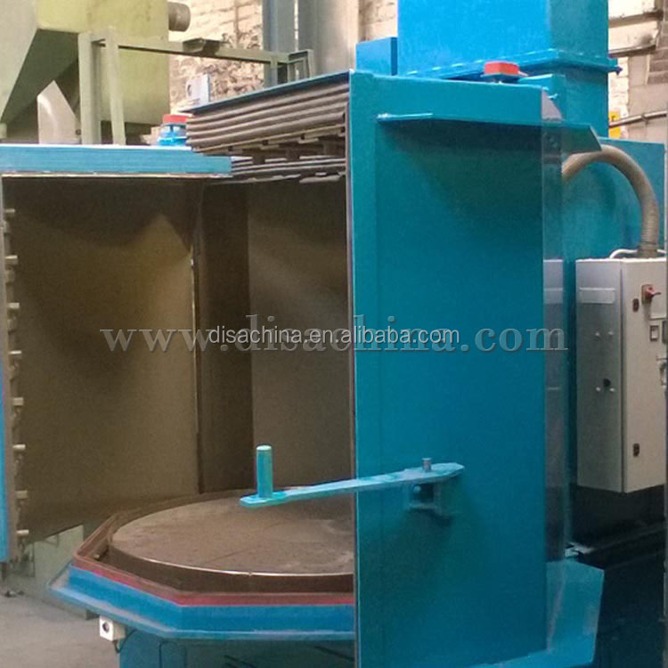 Rotary Table Shot Peening Machine/Sandblast Equipment