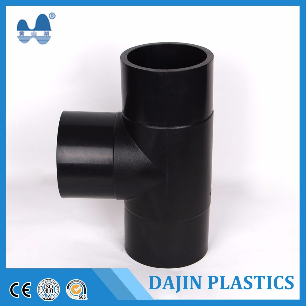 Hot china products wholesale Pe barbed plastic equal tee connector irrigation pipe fitting