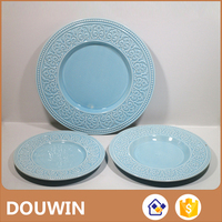 Best price of porcelain dinner plates dish wholesale with high quality