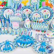 Customized Truly Scrumptious Vintage Party Catering Tableware decoration for birthday theme