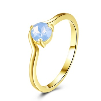 Latest Gold Ring Designs For Girls Plated Jewelry Best Birthday Gift Girlfriend Minimalist Design