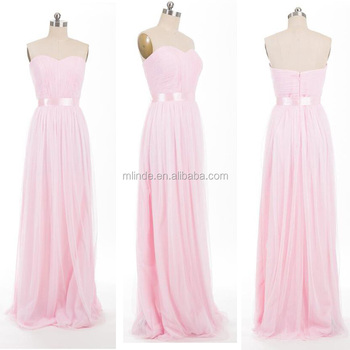 Bridesmaid Dresses Chiffon Long Elegant Tulle Bridesmaid Dress For Spring  Summer Wedding 2017 2018 66b163ac2e1c