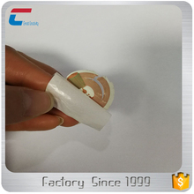 Customized programmable printable tamper proof micro NFC tag