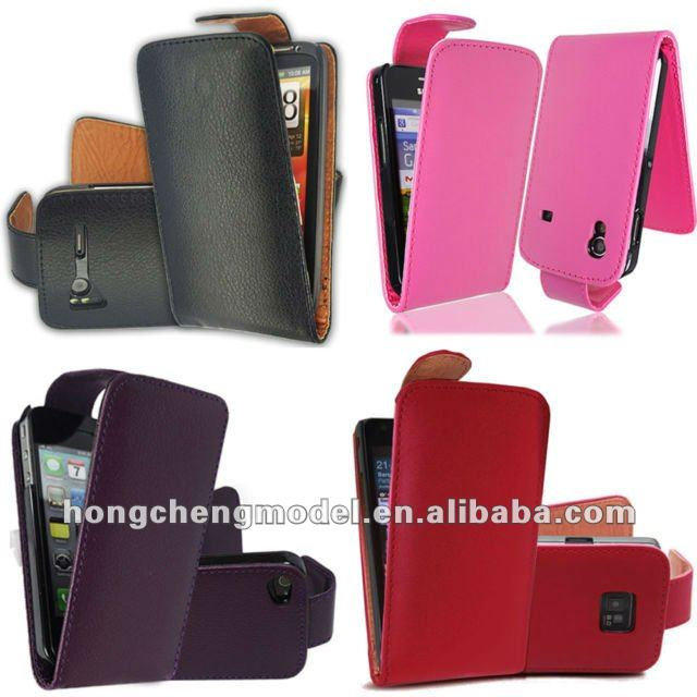 Various Color Synthetic PU Leather Magnetic Flip Mobile Phones cases for Mobile Phones