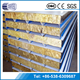 sales quality construction fireproof insulation rock wool sandwich panel panel sandwich