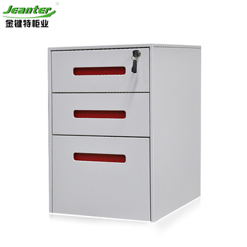 Office Equipment A4 File Cabinet 3 Drawer Mobile Pedestal